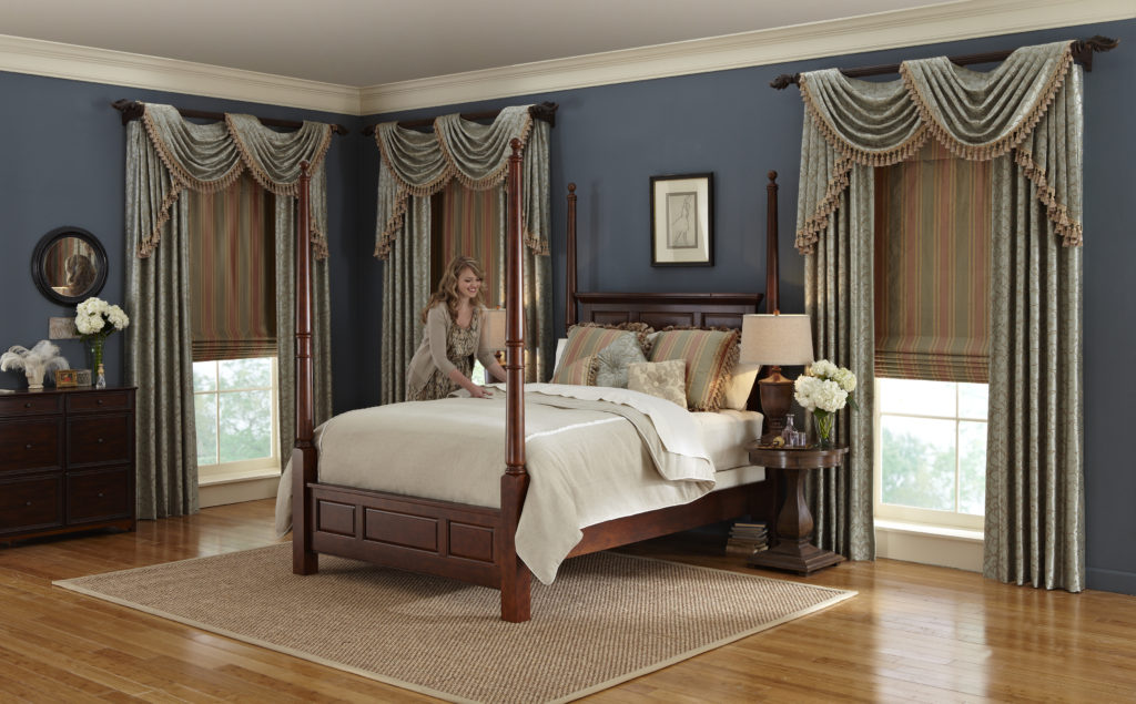 Drapes with Swags & Cascades