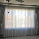 TRACK MOUNTED DRAPES & SHEERS